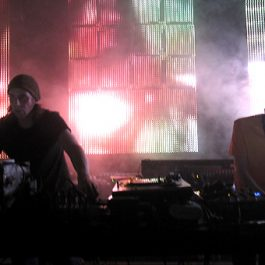 Demdike Stare perform a one off audio visual show.